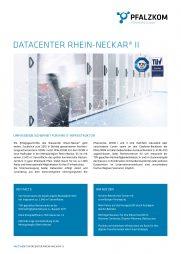 Factsheet Datacenter Rhein-Neckar II