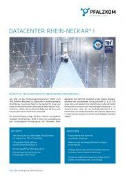 Factsheet Datacenter Rhein-Neckar I