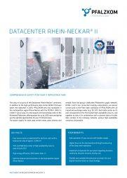 Factsheet Datacenter Rhein-Neckar II (english)