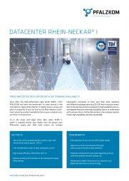 Factsheet Datacenter Rhein-Neckar I (english)