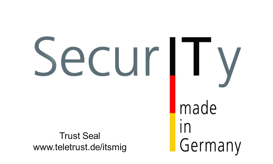 IT Security made in Germany TeleTrusT Seal neu v2